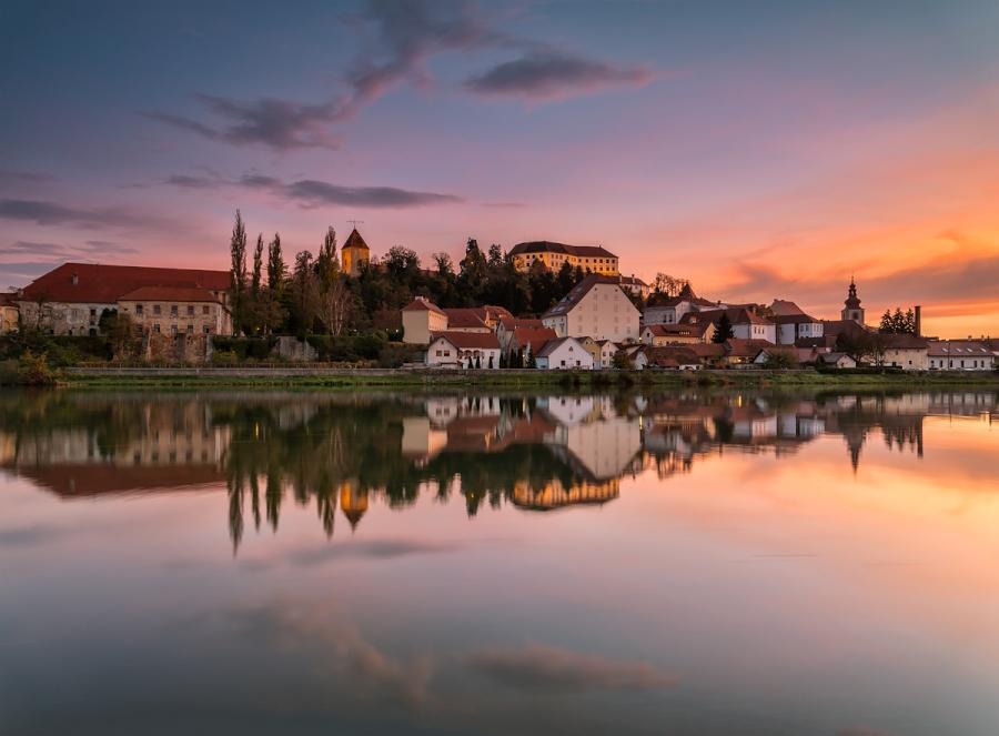 Morning at Ptuj