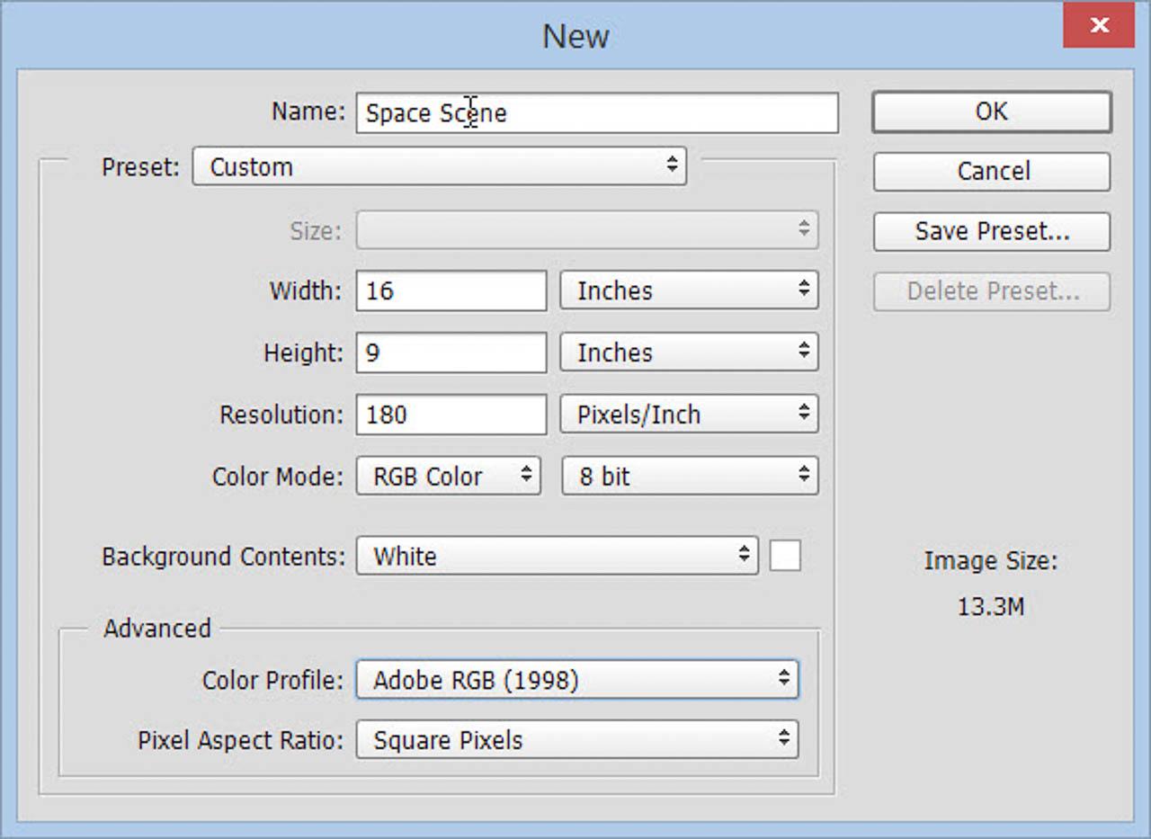 Step 1 Create Blank Document
