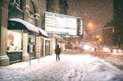 new york city - snow - janus - village east cinema (1)