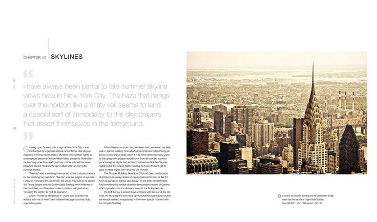 NY Through The Lens - Photography Book -