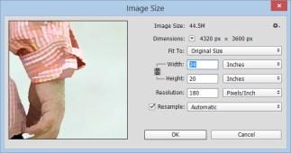 New image size