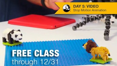 A Free Class on Stop Motion Animation