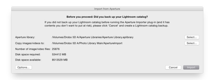 The Essential Guide to Moving an Aperture Library to Adobe