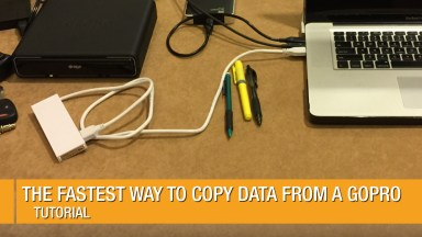The Fastest Way to Copy Data from a GoPro