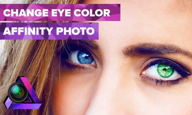 Change Eye Color Using Affinity Photo