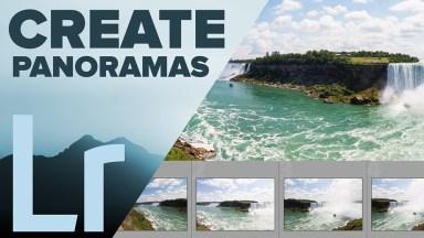 Panoramas in Adobe Photoshop Lightroom CC