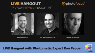 LIVE HDR Hangout with Photomatix Expert Ron Pepper
