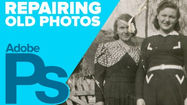 Repairing Old Photos in Photoshop