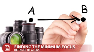 Macro Photography: Finding the Minimum Focus Distance for a Lens