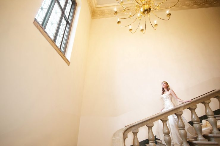 Lovesome Photography Marble Stairs bride George Washington Masonic Memorial