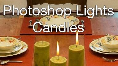 Candle Lighting with Photoshop