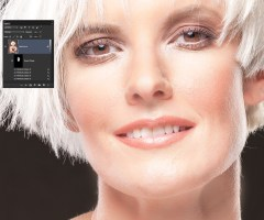 The Original preset plus three applications of Perfectly Smooth, Skin Tone and Light Diffusion.