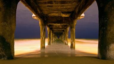 Photo of the Day: Under the Pier