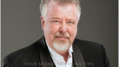 Four Tips to Standard Portrait Headshot Posing