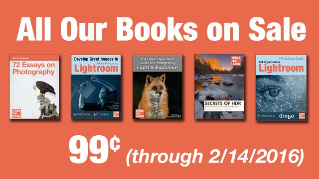 All Our eBooks on Sale Until February 14, 2016