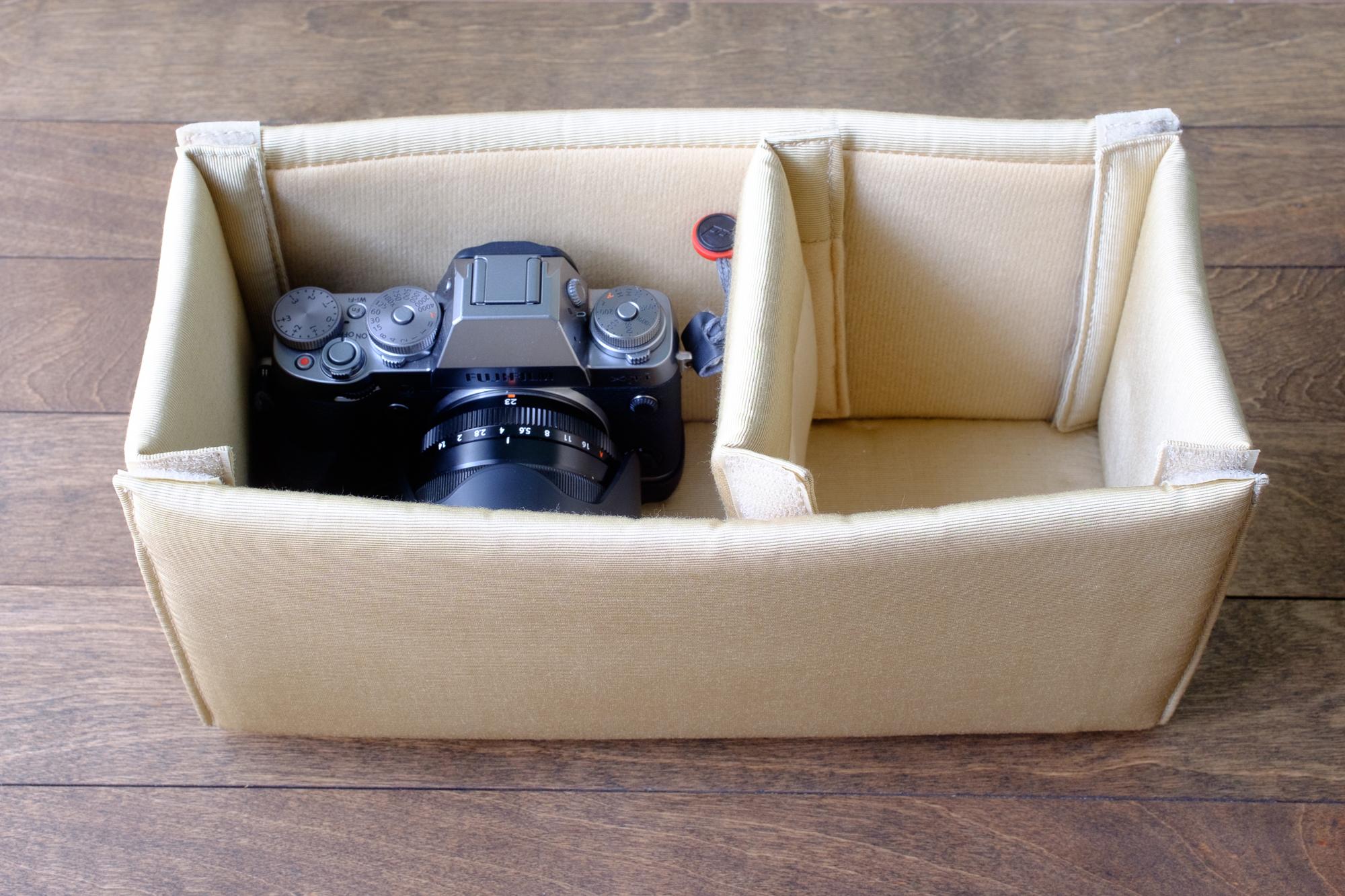 Fuji X-T1 with Fuji 23mm lens (attached)