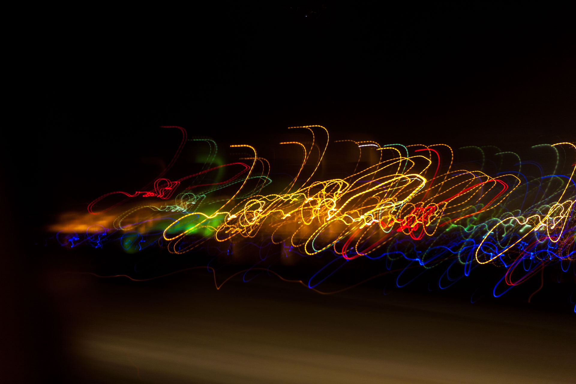 Holiday Lights In Abstract Slow Shutter >> Long Exposures For Abstract Art Photofocus