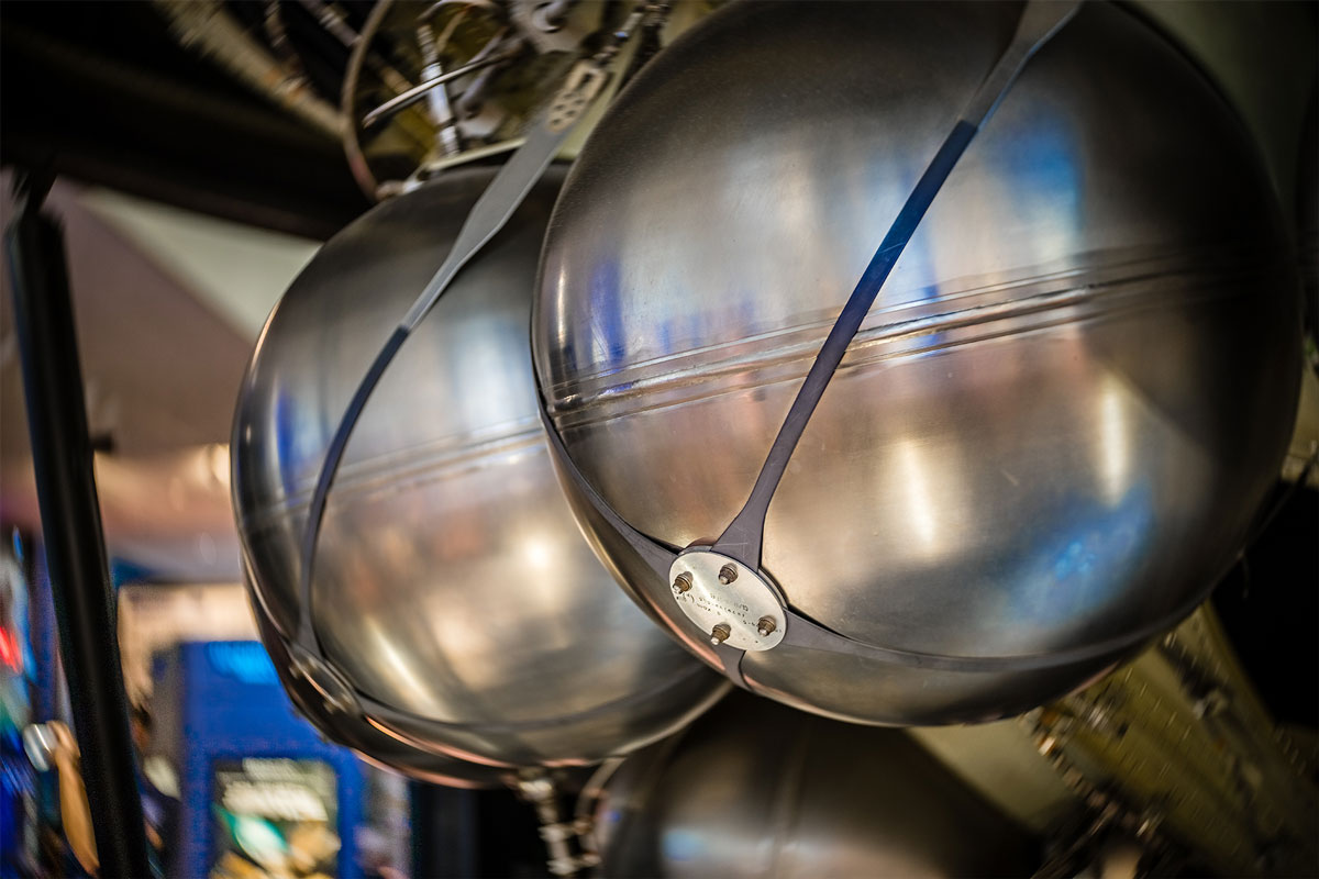 The Fuel Pods on Skylab- 5 Shot HDR