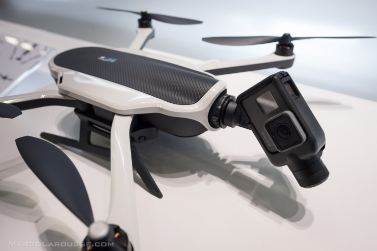 A first look at the GoPro KARMA Drone