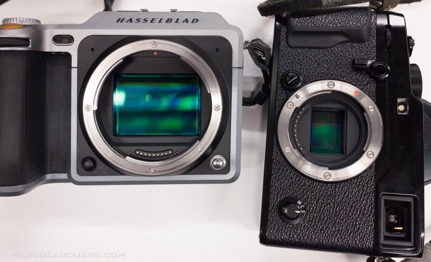 Hasselblad X1D vs APS-C sensor