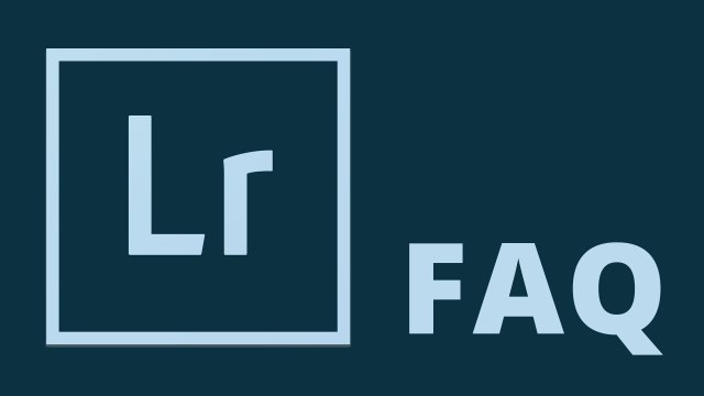 Lightroom FAQ: The Catalog Panel