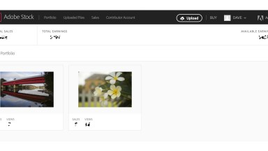 Adobe Stock Contributor Portal