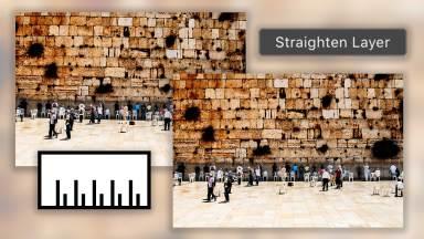 Straighten a Photo in Photoshop