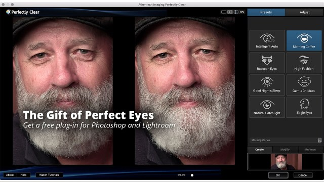 A Totally Free Plugin for Photoshop and Lightroom That's Awesome for Portraits
