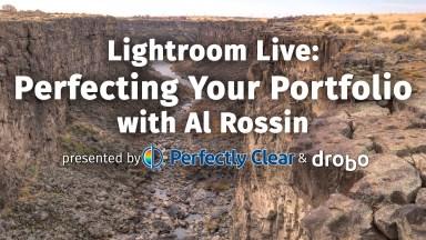 Lightroom Live: Perfecting Your Portfolio with Al Rossin