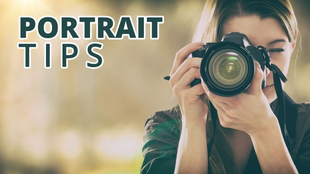 Portrait Tips: Free Portrait Class For Limited Time