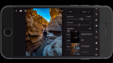Lightroom Mobile Update: RAW HDR's for iPhone and Android