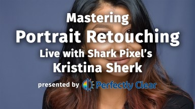 Live Webinar: Mastering Portrait Retouching with Kristina Sherk