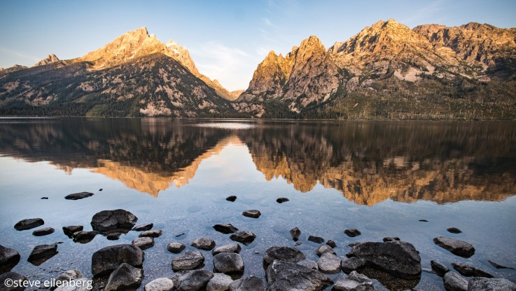 The Grand Teton's Jenny Lake is in the path of 2017's solar eclipse totality.