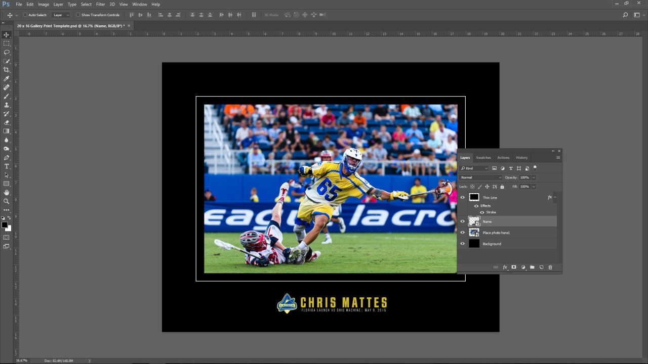 Create a Gallery Print Template | Photofocus