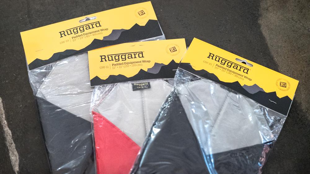 Ruggard Padded Equipment Wraps