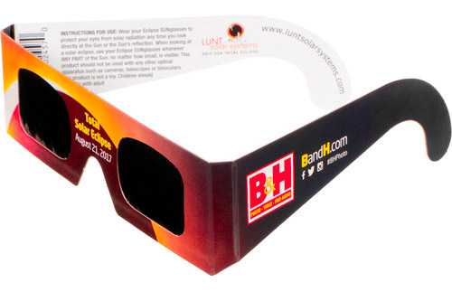 B&H Solar Viewing Glasses 5 Pack