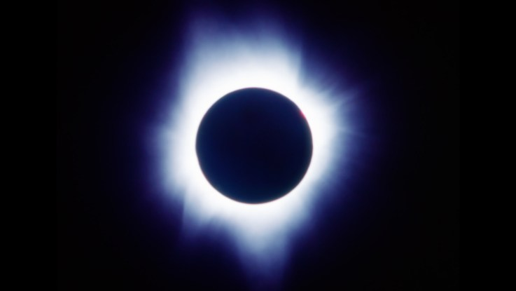 July 1991 eclipse of the sun ©Steven Ingliman