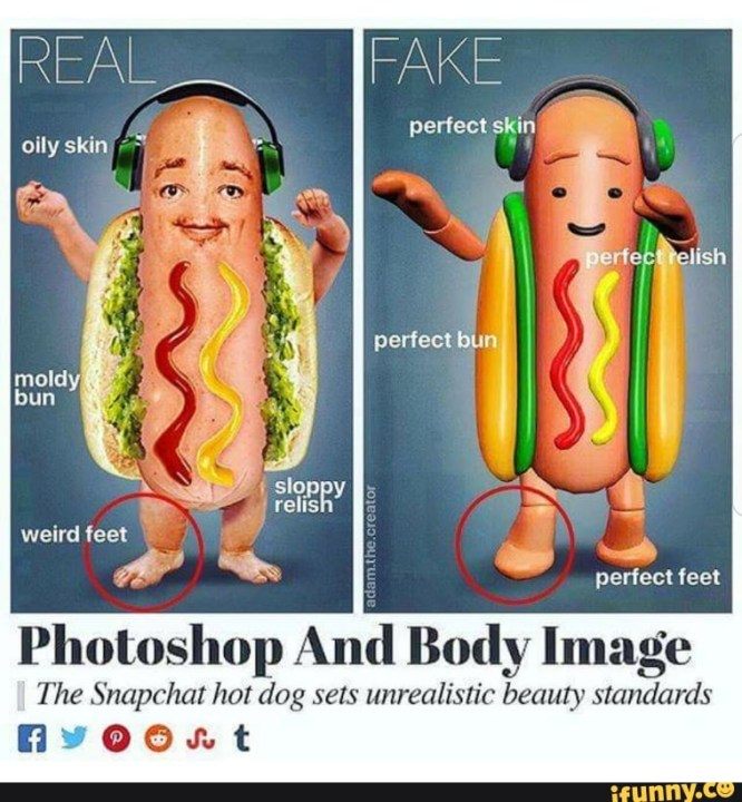 Photofocus Sunday Comics Photoshop Body Image