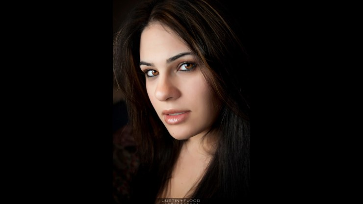 Photofocus honors Justin Flood with Photographer of the Day kudos for his Beauty entry Katrina Headshot.