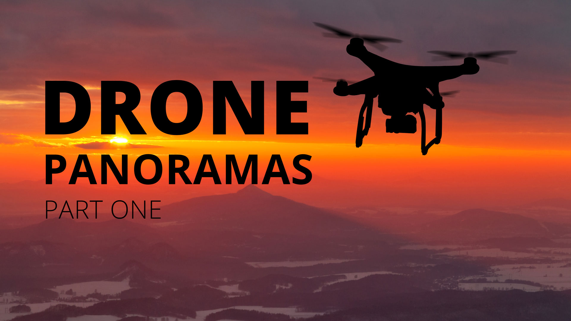 Shooting Panoramic Images from a Drone   Photofocus