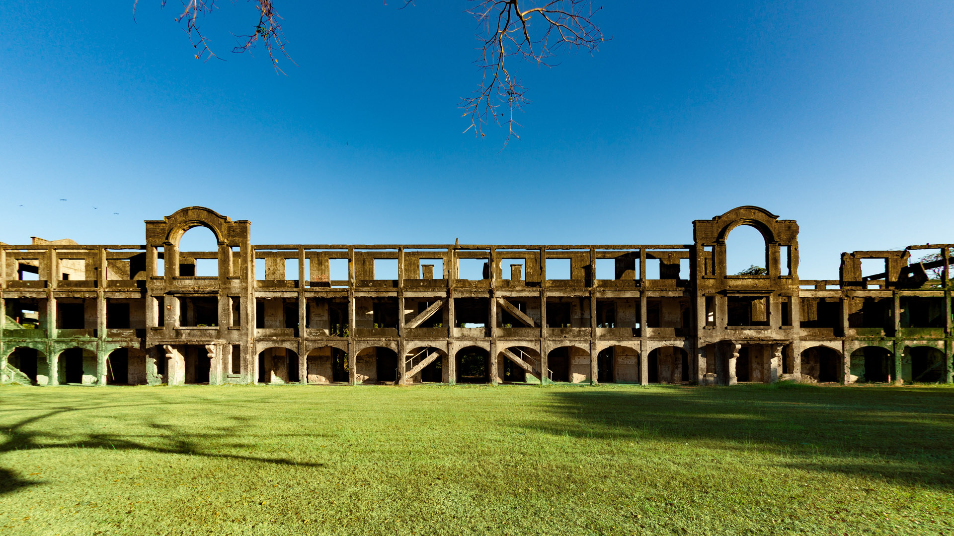 Ruins of the American hospital on Corregidor from World War II ©Kevin Ames