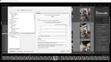 Create Custom Emails In Lightroom