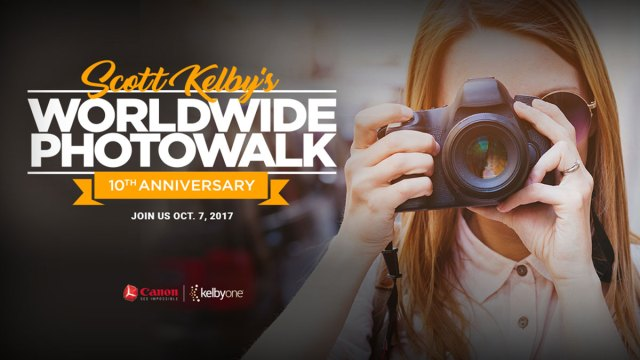 Join Photographers Across the Globe for Scott Kelby's Worldwide Photowalk