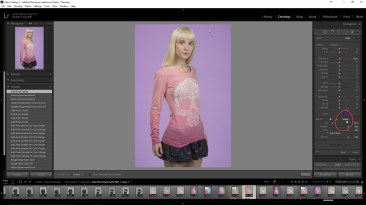 Lightroom's Erase Brush