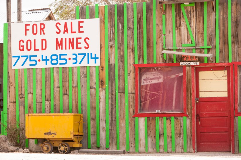Gold mines for sale on Crook Avenue
