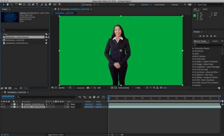 How to Key Greenscreen Video in Adobe After Effects | Photofocus