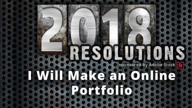 New Year's Resolutions for Photographers ~ Make Online Portfolios!