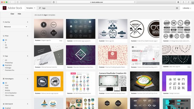How to Create a Logo Using Adobe Stock - Updated