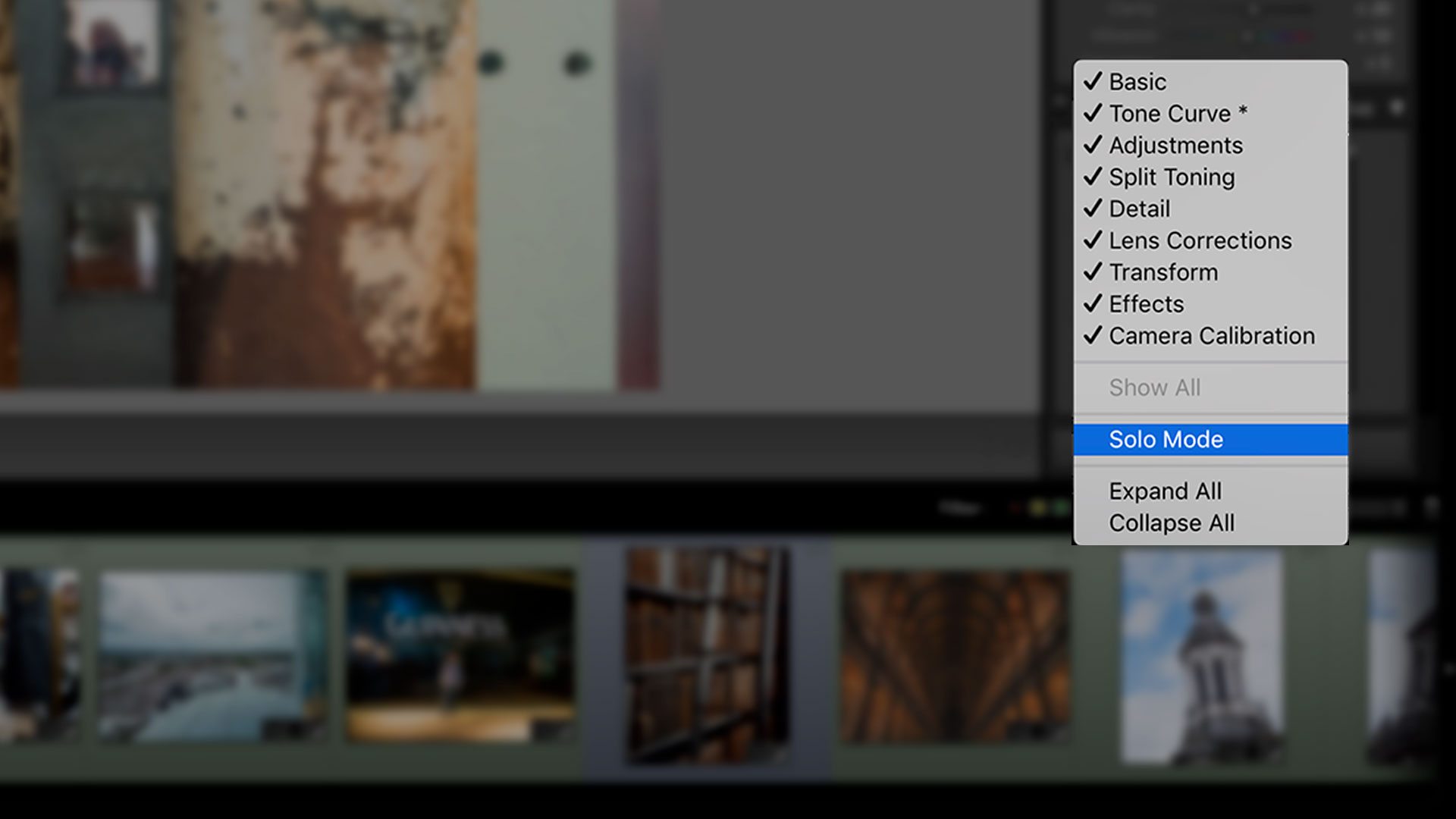 Quick Tip: Stay Organized with Lightroom Solo Mode