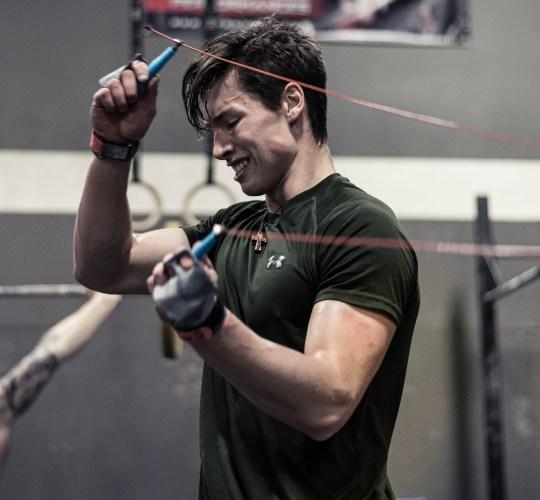 CrossFit athlete Benoit Boulanger